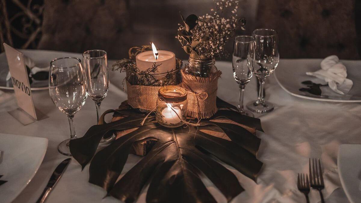 boho dekorace na svatbu
