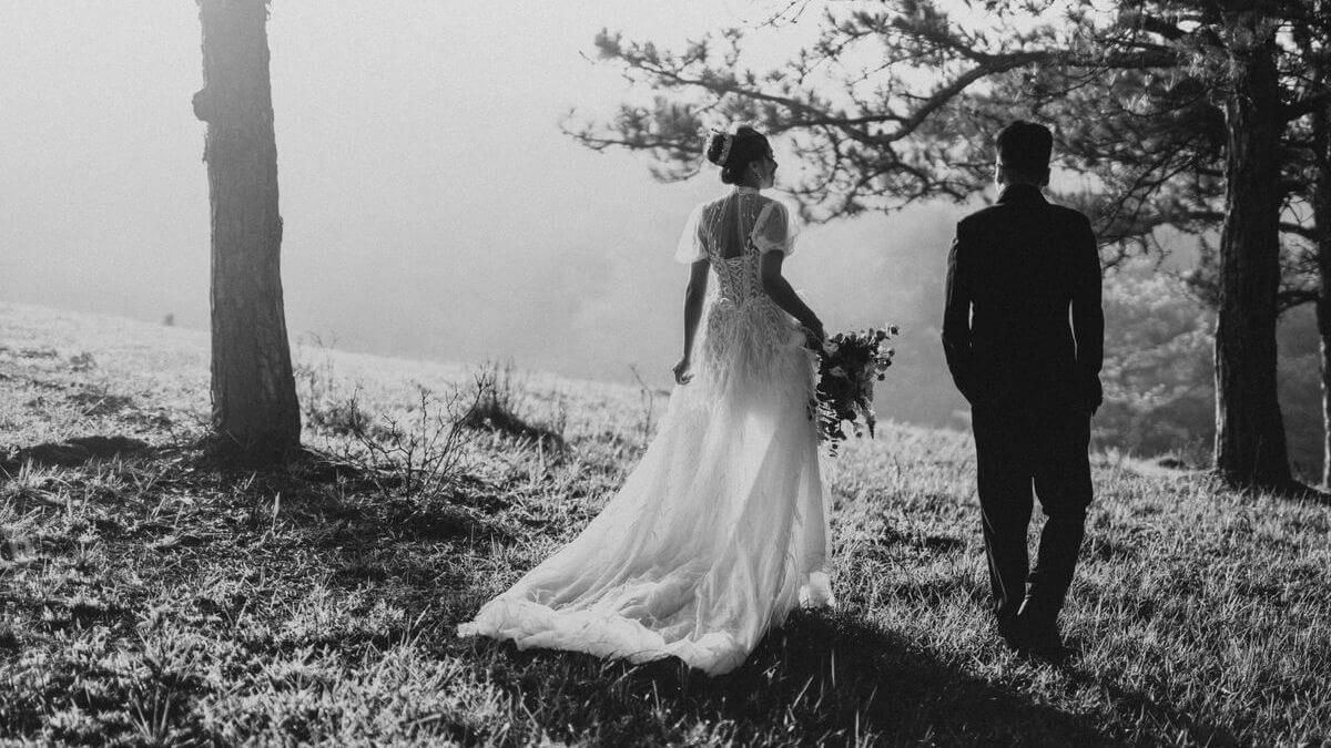 poděkování za svatbu