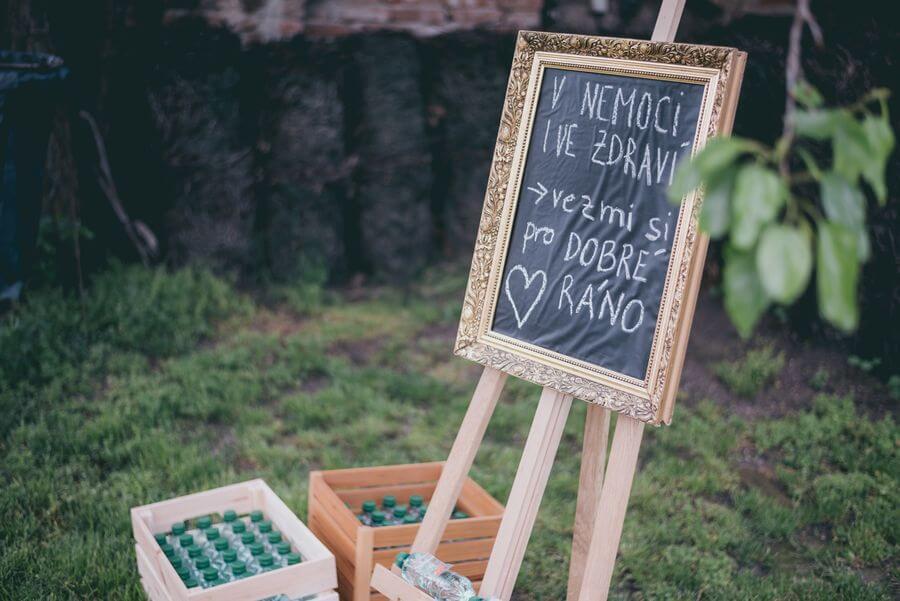 dárky pro svatební hosty